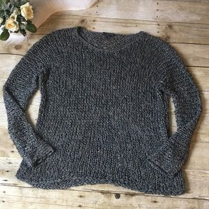Eileen Fisher Alpaca & Silk Sweater Size Large